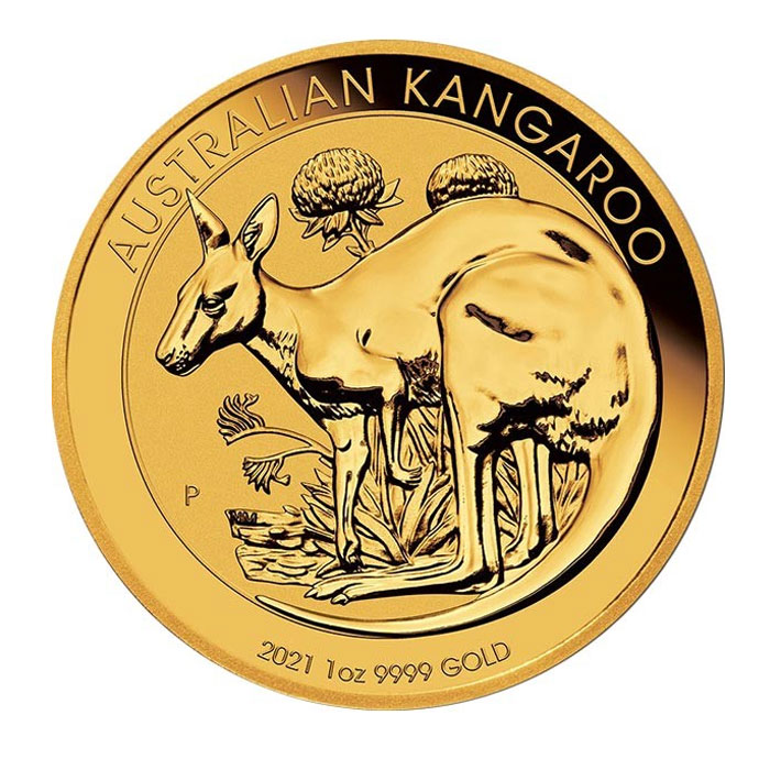 Australia 2021 - Kangaroo Au999.9 1 Oz
