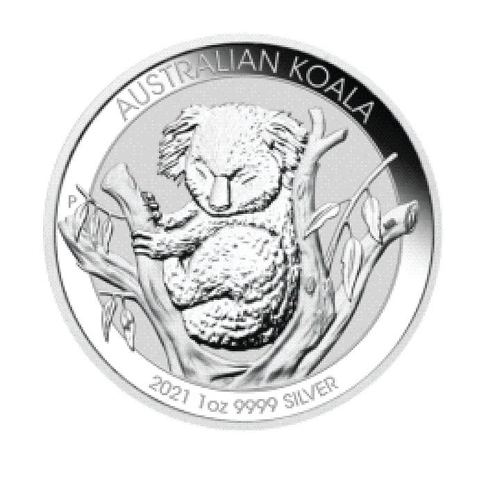 Australia 2021 - Koala Ag9999 1 Oz-