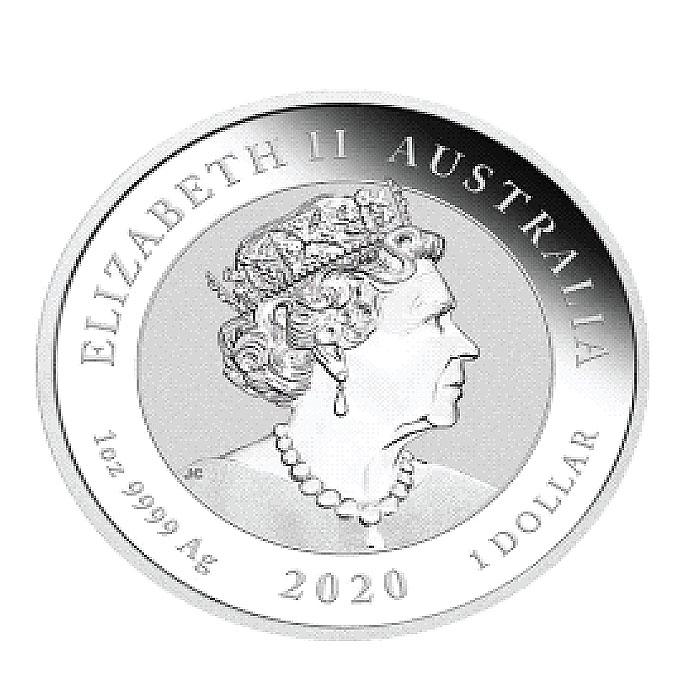Australia 2020 - Double Pixiu Ag9999 1 Oz-