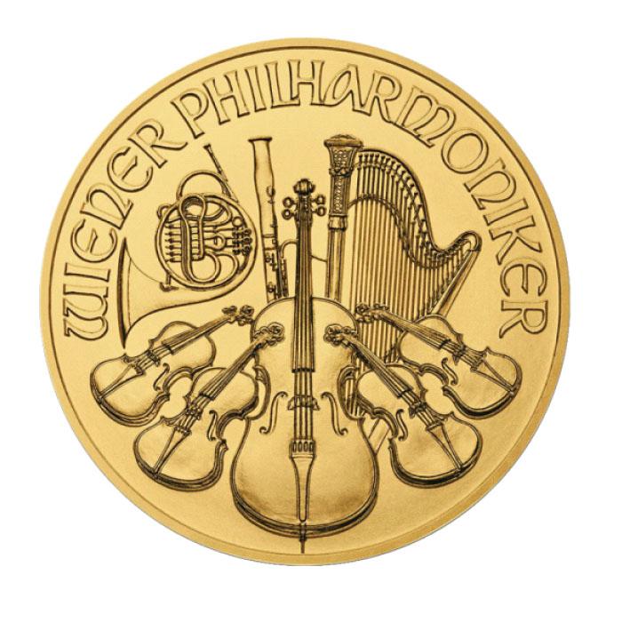 Austria 2021 - Wiener Philharmoniker Au999,9  Fllharmonik wiedeński
