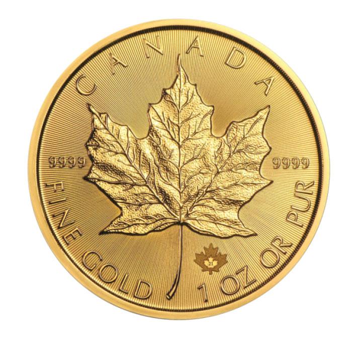 Canada 2021 - Maple Leaf  (Liść kanadyjski) Au 999.9 1 Oz