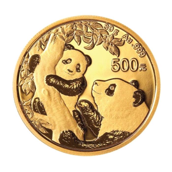 China 2021 - Panda Au999 - 30g