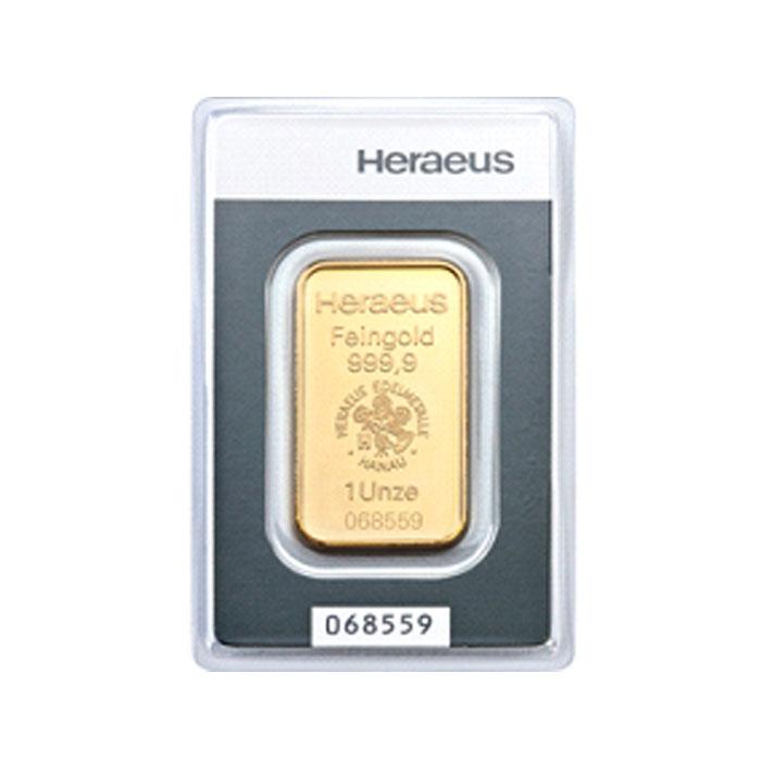 Sztabka złota  Au999.9  - 31,1g