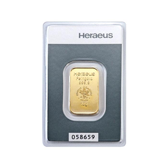 Sztabka złota Au999,9 - 10g