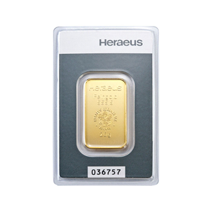 Sztabka złota - 20g