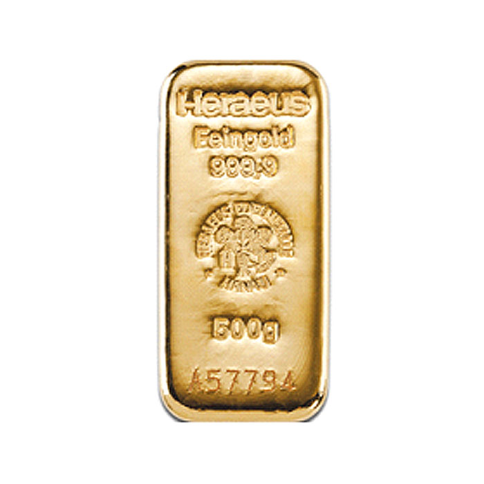 Sztabka złota lana 500g