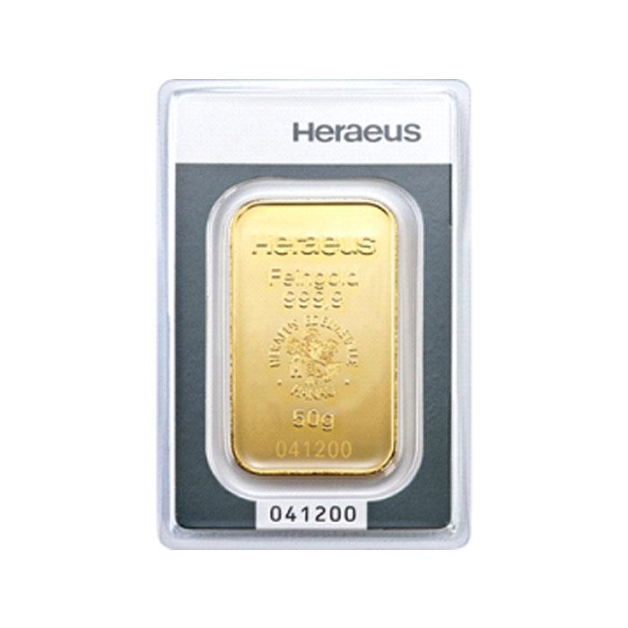 Sztabka złota - 50g