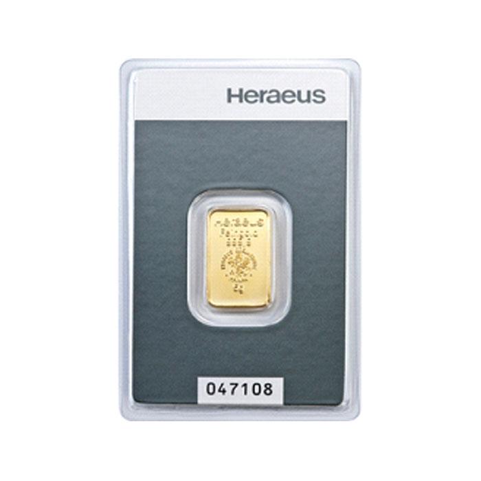 Sztabka złota Au999,9  - 5g